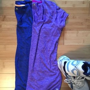 Bundle of 2 Xersion Workout Tops